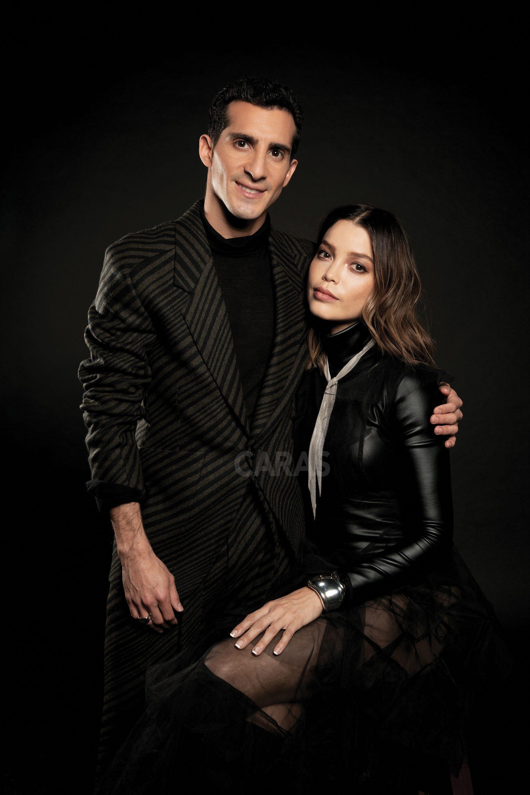 rommel y su esposa